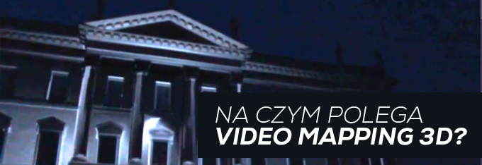 na czym polega video mapping