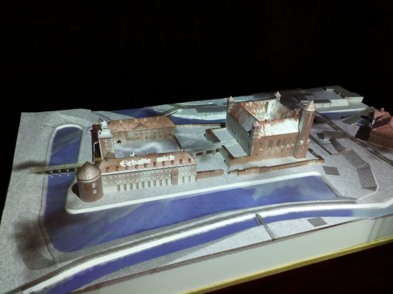 mapping w muzeum